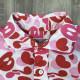 ABC milo camo pink 半袖シャツ Sサイズ a bathing ape bape エイプ ベイプ アベイシングエイプ ABCカモ マイロ 迷彩 nigo zk6