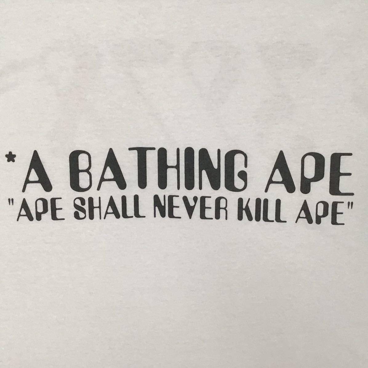 ★200着限定★ 猿の惑星 3978年 Tシャツ Mサイズ a bathing ape BAPE vintage planet of the apes NIGO oneita 裏原宿 エイプ ベイプ 90s