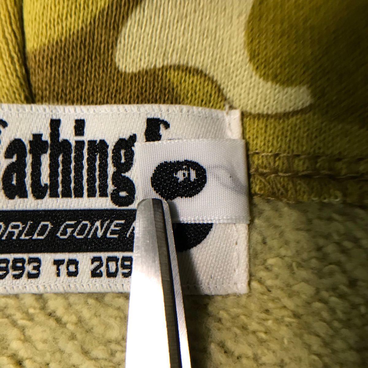 ★非売品★ ゴールド カラーカモ パーカー XL a bathing ape bape hoodie gold card limited color camo エイプ ベイプ アベイシングエイプ