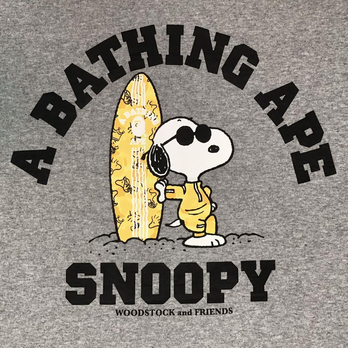 ★阪急限定★ SNOOPY × BAPE WOODSTOCK サーフボード Tシャツ Mサイズ a bathing ape bape スヌーピー エイプ ベイプ アベイシングエイプ
