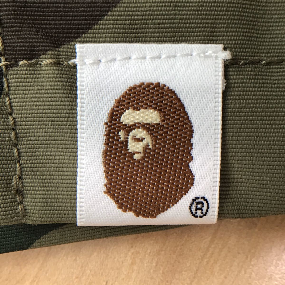 1st camo ナイロン ジャケット Mサイズ a bathing ape BAPE エイプ ベイプ アベイシングエイプ ブルゾン 迷彩 nylon jacket 9432