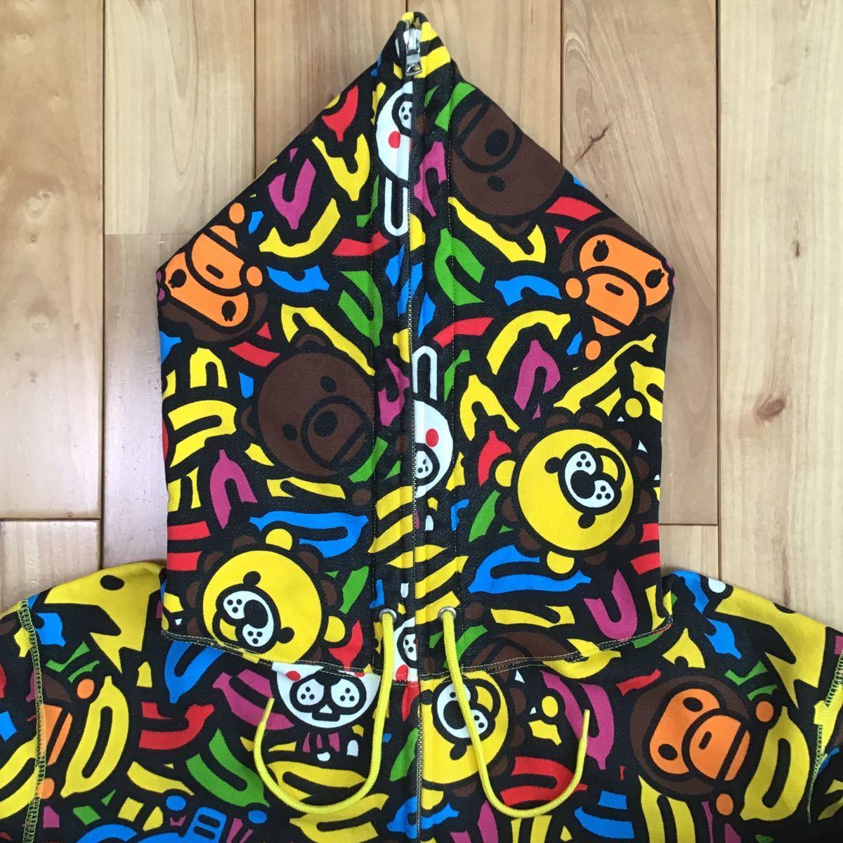 ★XL★ アニマル バナナ マイロ フルジップ パーカー a bathing ape BAPE sta full zip hoodie milo Safari animal banana エイプ ベイプ