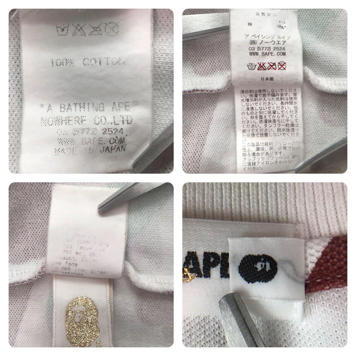 ★仙台限定★ sendai city camo ポロシャツ Mサイズ a bathing ape bape エイプ ベイプ アベイシングエイプ 都市限定 迷彩 nigo 1240