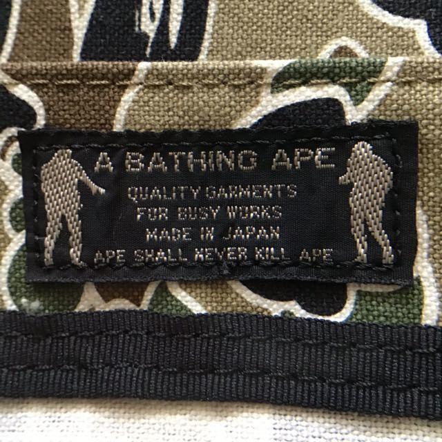 sta camo green トートバッグ a bathing ape bape bag エイプ ベイプ アベイシングエイプ psyche サイケ nigo