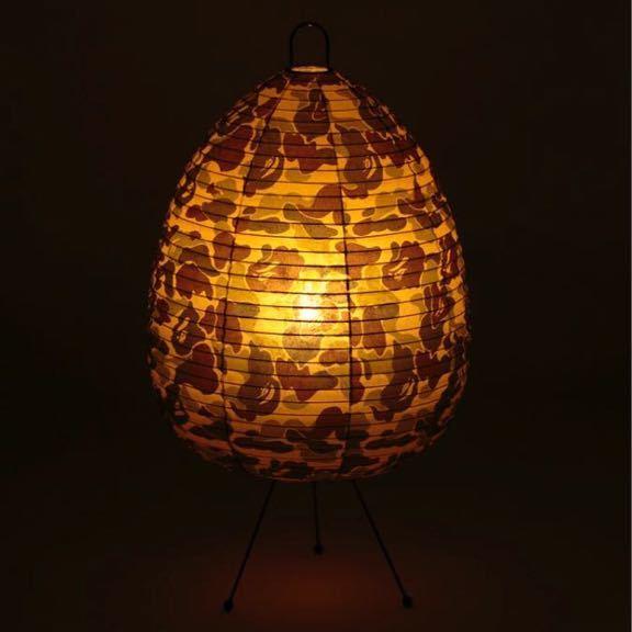 ★新品★ ABC CAMO LAMP GREEN case study shop ABCカモ ランプ a bathing ape bape エイプ ベイプ furniture MODERNICA 迷彩 ライト
