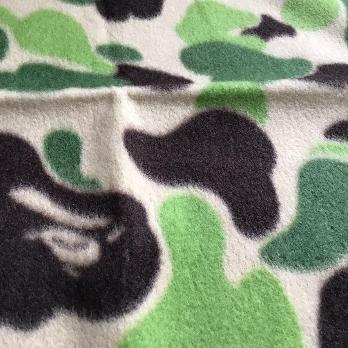 ★新品★ bape camo ブランケット a bathing ape エイプ ベイプ アベイシングエイプ グッズ ムック 限定 mook blanket グッズ 迷彩 nigo