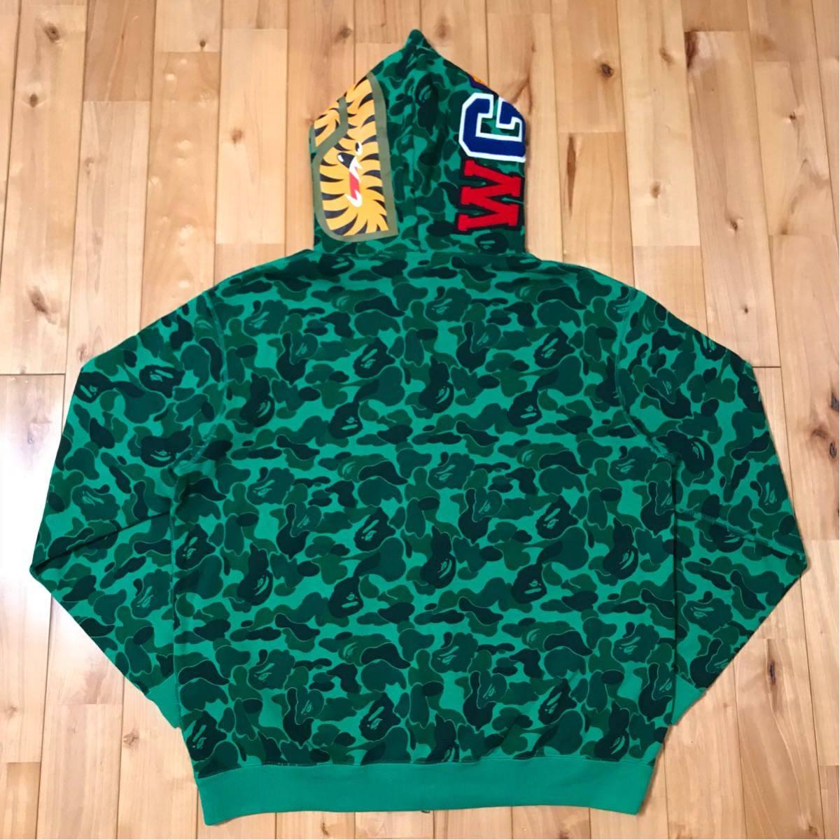 ★渋谷限定★ 初代 shibuya store limited color camo シャーク パーカー shark full zip hoodie a bathing ape BAPE ベイプ 都市限定