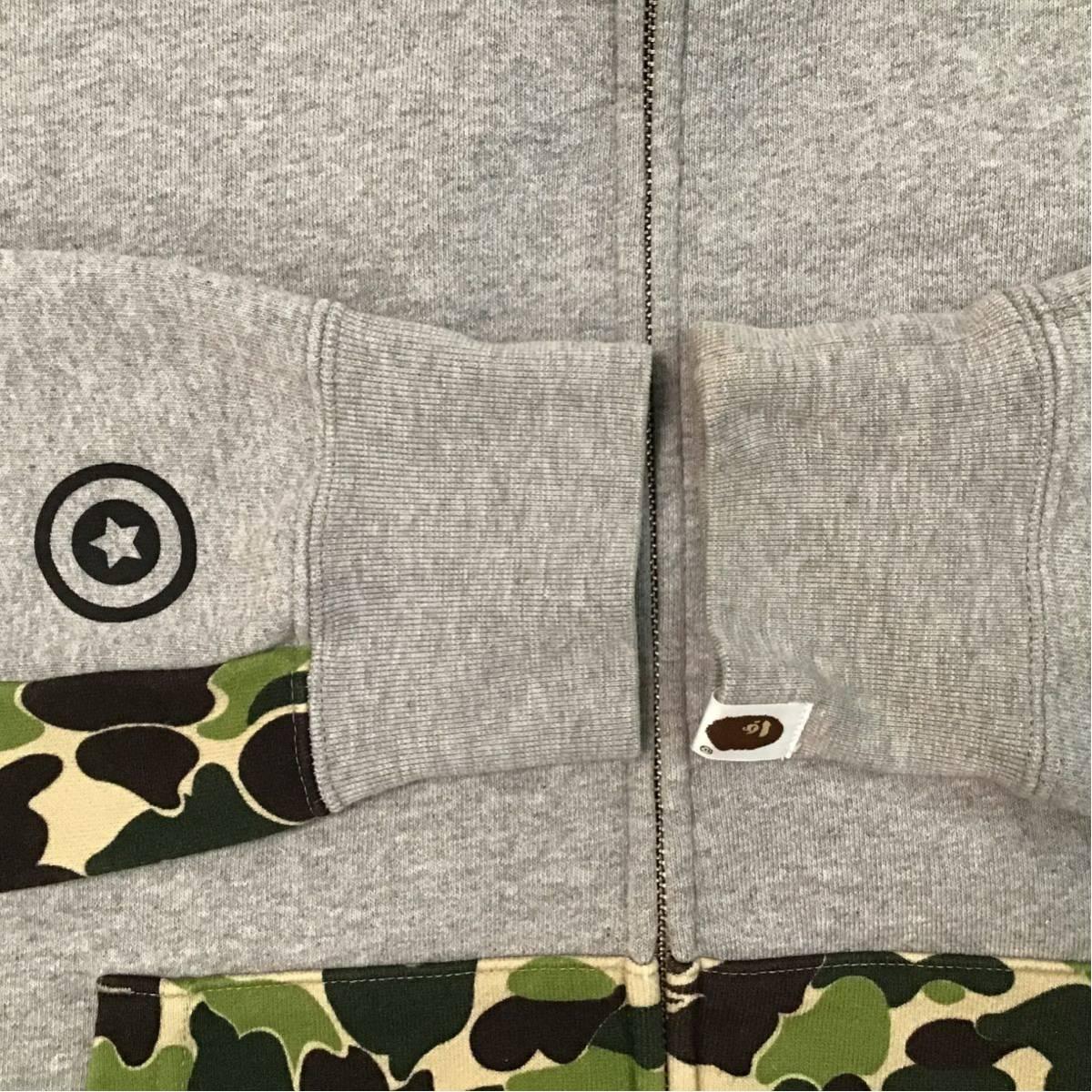 ★激レア★ NW20周年記念 ABC camo シャーク パーカー Lサイズ shark full zip hoodie a bathing ape bape エイプ ベイプ 迷彩 NIGO cb5