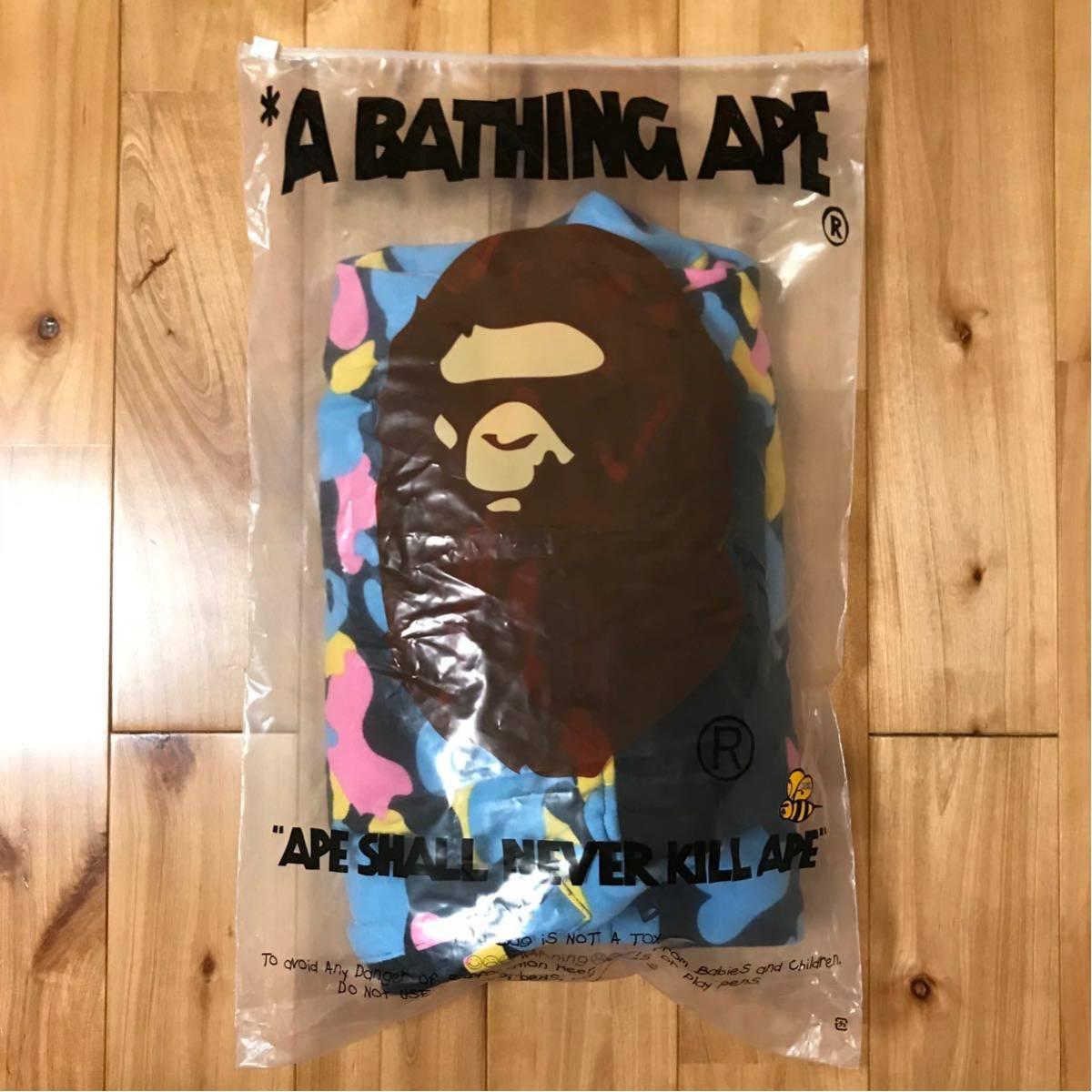 ★美品★ マルチカモ スウェット ハーフパンツ Mサイズ a bathing ape BAPE shorts pants candy camo multi エイプ ベイプ 迷彩 ショーツ