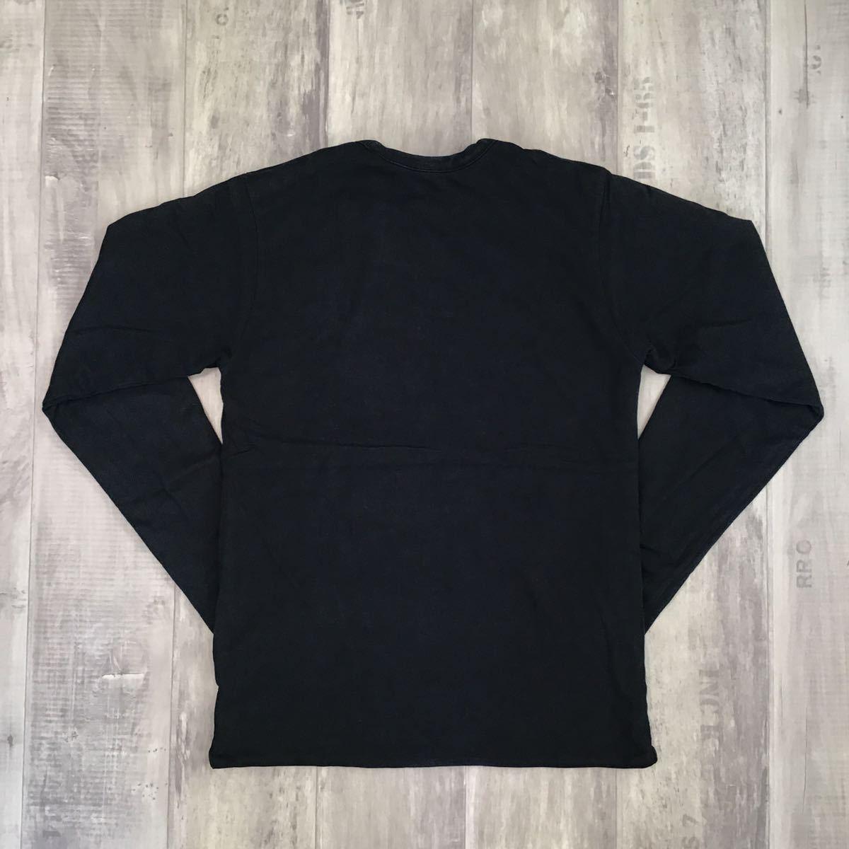 ★リバーシブル★ kaws bendy 1st camo 長袖 Tシャツ Sサイズ a bathing ape bape カウズ エイプ ベイプ アベイシングエイプ