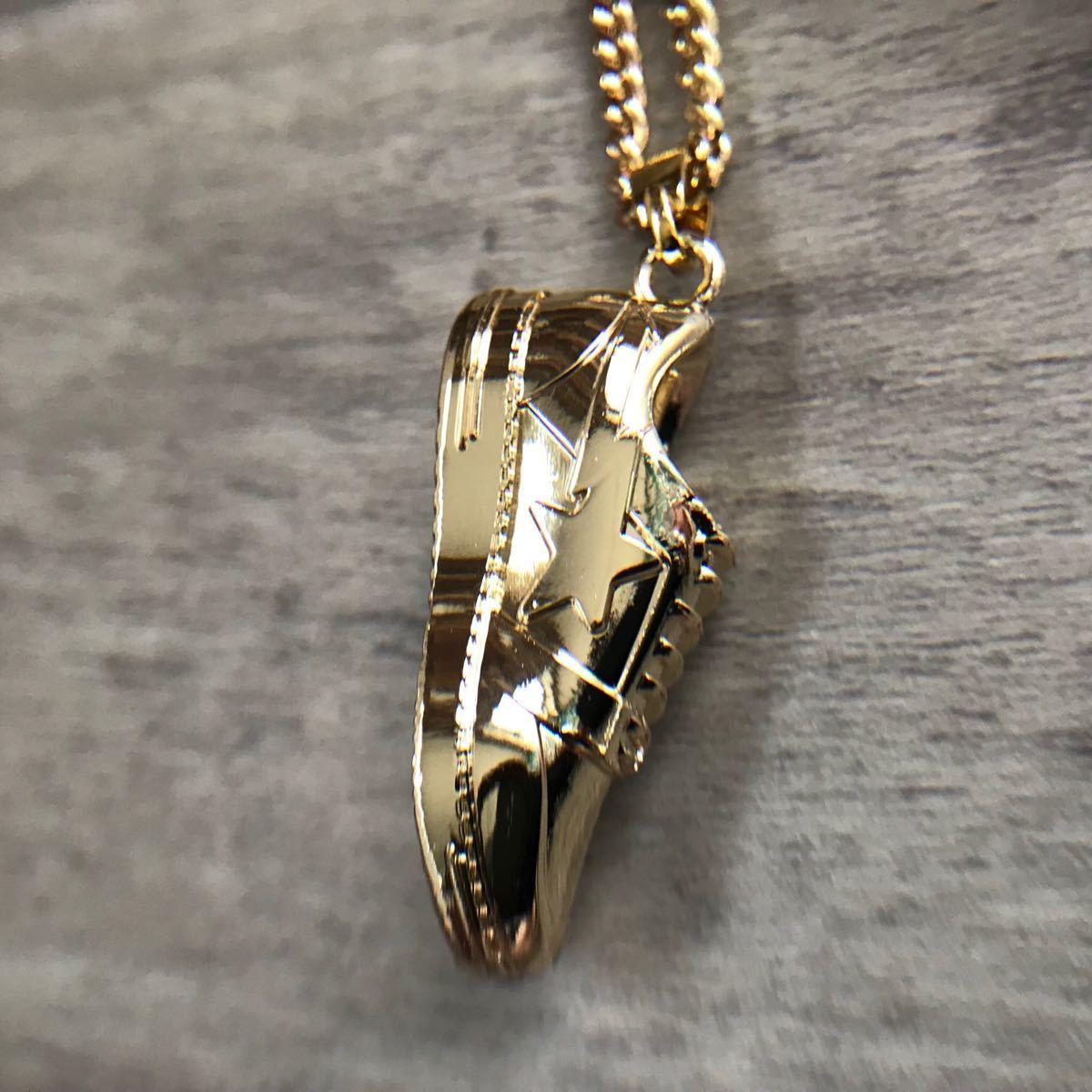 ★非売品★ BAPESTA ネックレス necklace a bathing ape bape sta gold card member limited エイプ ベイプ アベイシングエイプ 会員限定