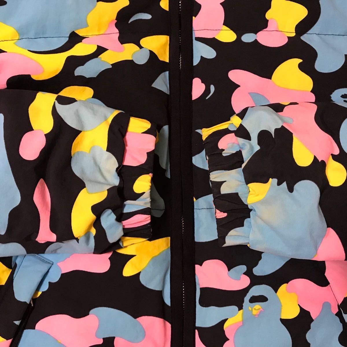 ★リバーシブル★ マルチカモ ダウンジャケット レディース tallサイズ a bathing ape bape cotton candy camo multi エイプ ベイプ kanye