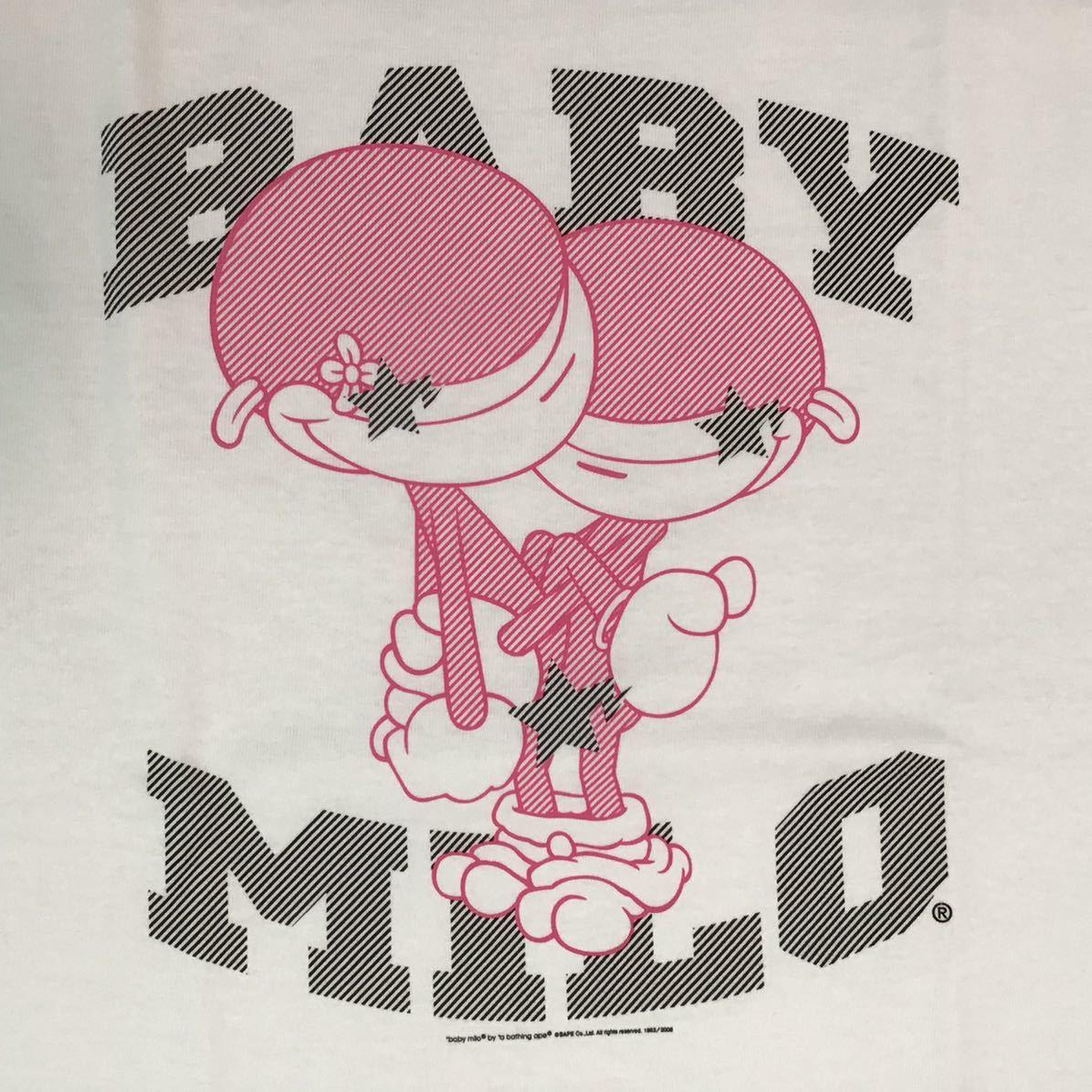 ★新品★ ムック限定 マイロ & リサ sexy Tシャツ Mサイズ milo a bathing ape bape mook limited エイプ ベイプ アベイシングエイプ mn8