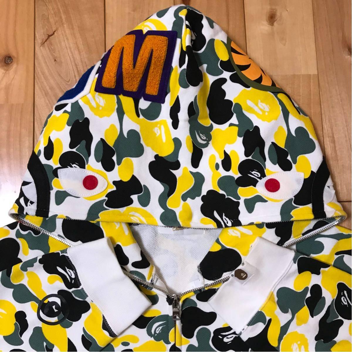 ★大阪限定★ osaka store limited color camo シャーク パーカー shark full zip hoodie a bathing ape BAPE city ベイプ 都市限定