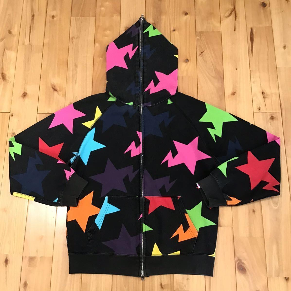 APEE スター パーカー レディース TALLサイズ a bathing ape bape sta full zip hoodie エイプ ベイプ アベイシングエイプ star ladies 32
