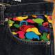 Milo Multi camo denim Sサイズ a bathing ape BAPE マイロ デニム エイプ ベイプ アベイシングエイプ jeans 迷彩 マルチカモ 35v2
