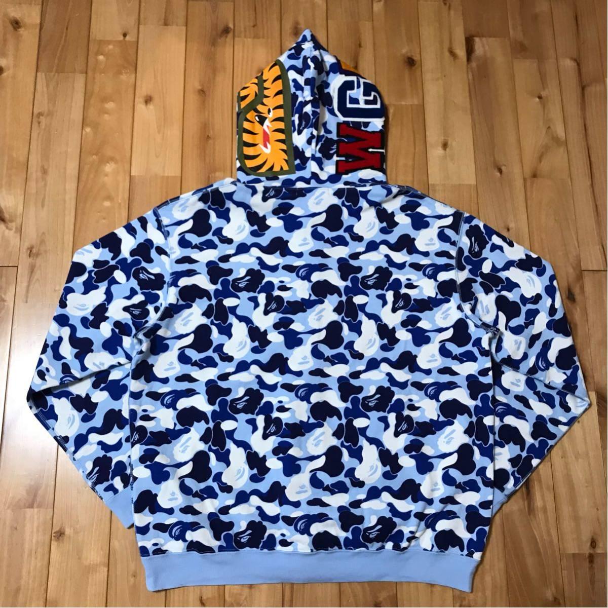 ★名古屋限定★ nagoya store limited color camo シャーク パーカー shark full zip hoodie a bathing ape BAPE city ベイプ 都市限定