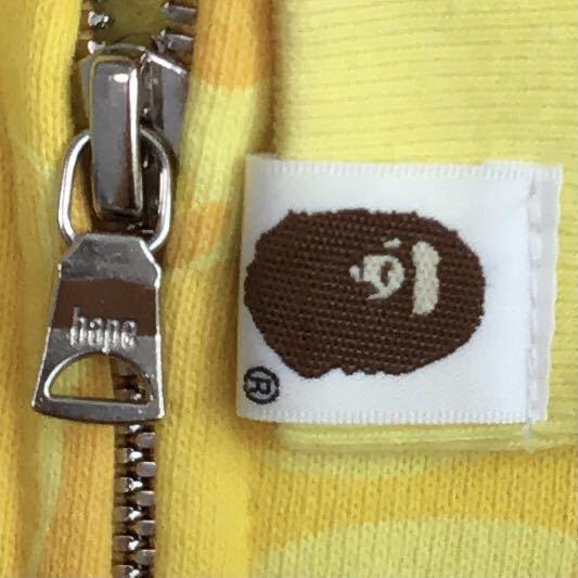 ★激レア★ 店舗限定 カラーカモ フルジップ パーカー XLサイズ a bathing ape BAPE full zip hoodie エイプ ベイプ アベイシングエイプ