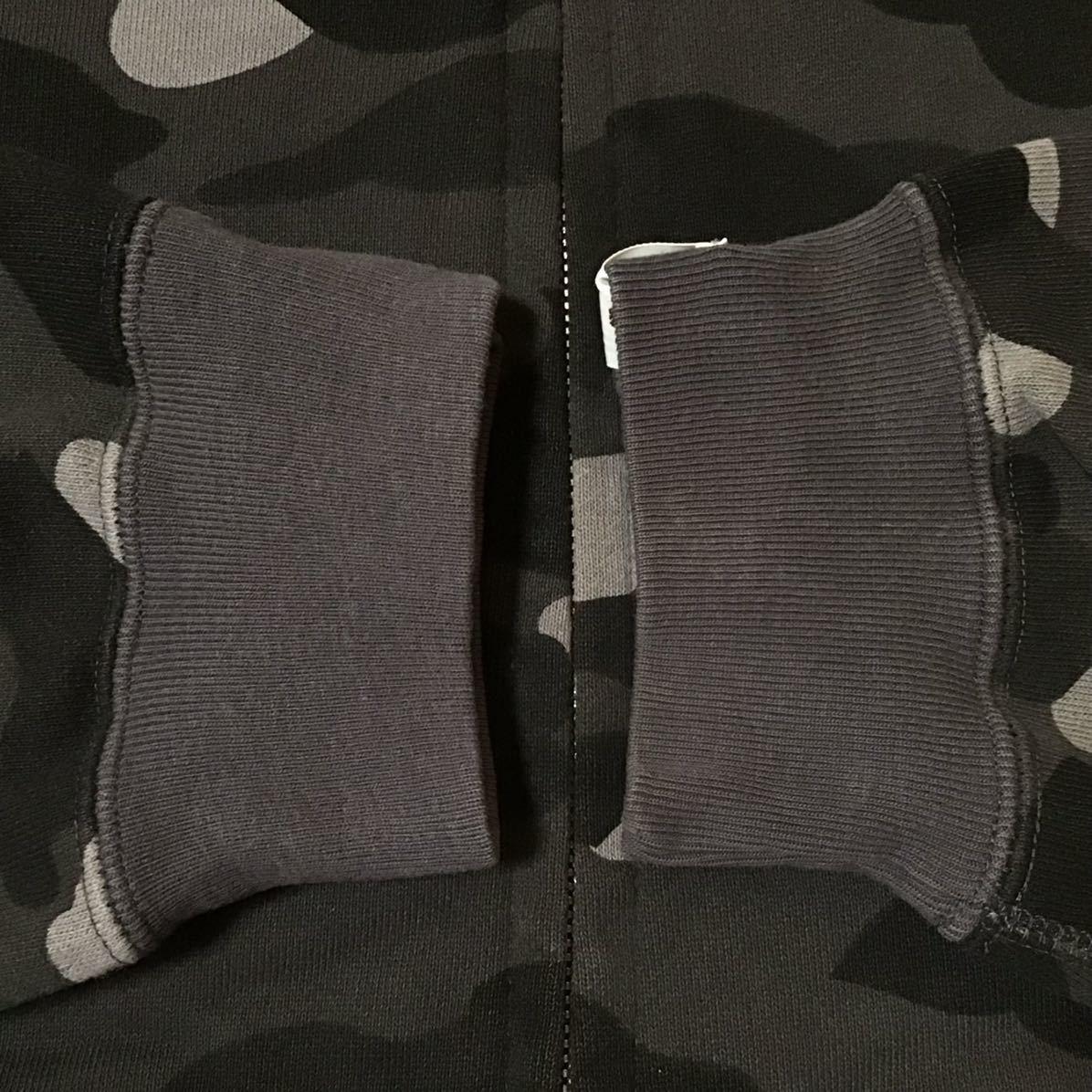 Swarovski パーカー Lサイズ black camo ラインストーン a bathing ape bape full zip hoodie スワロフスキー ベイプ エイプ 迷彩 8m8