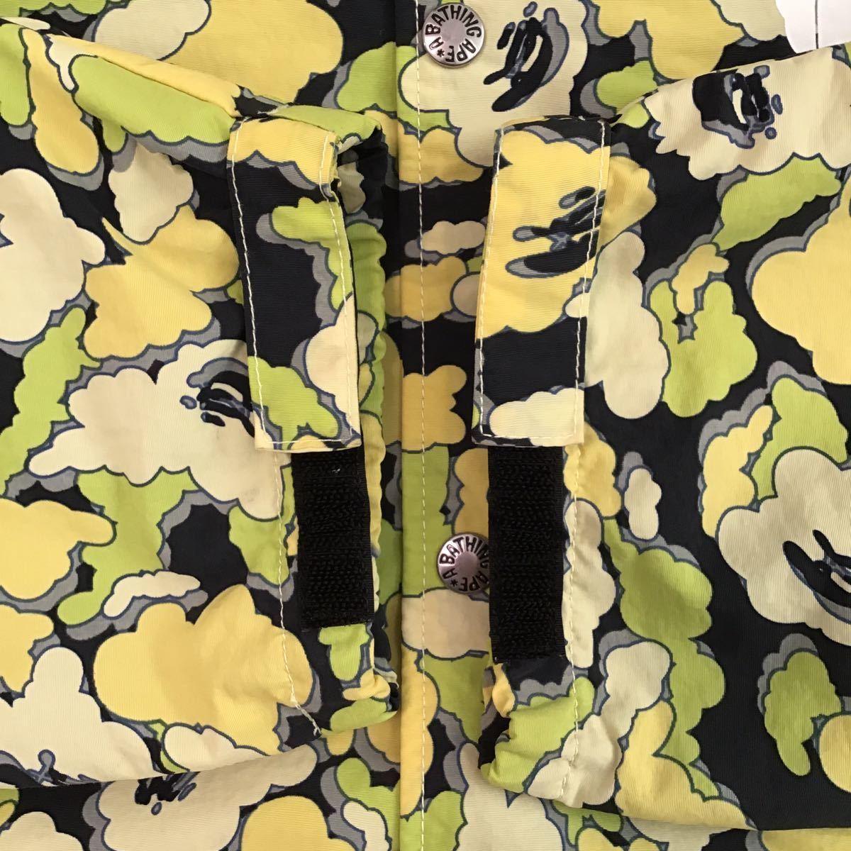 ★激レア★ kaws × BAPE cloud camo コーチジャケット Lサイズ a bathing ape jacket エイプ ベイプ アベイシングエイプ カウズ nigo 393