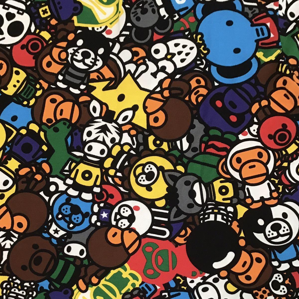 マイロ サファリ ポロシャツ Mサイズ a bathing ape bape baby milo エイプ ベイプ アベイシングエイプ オールスター Safari animal cj52
