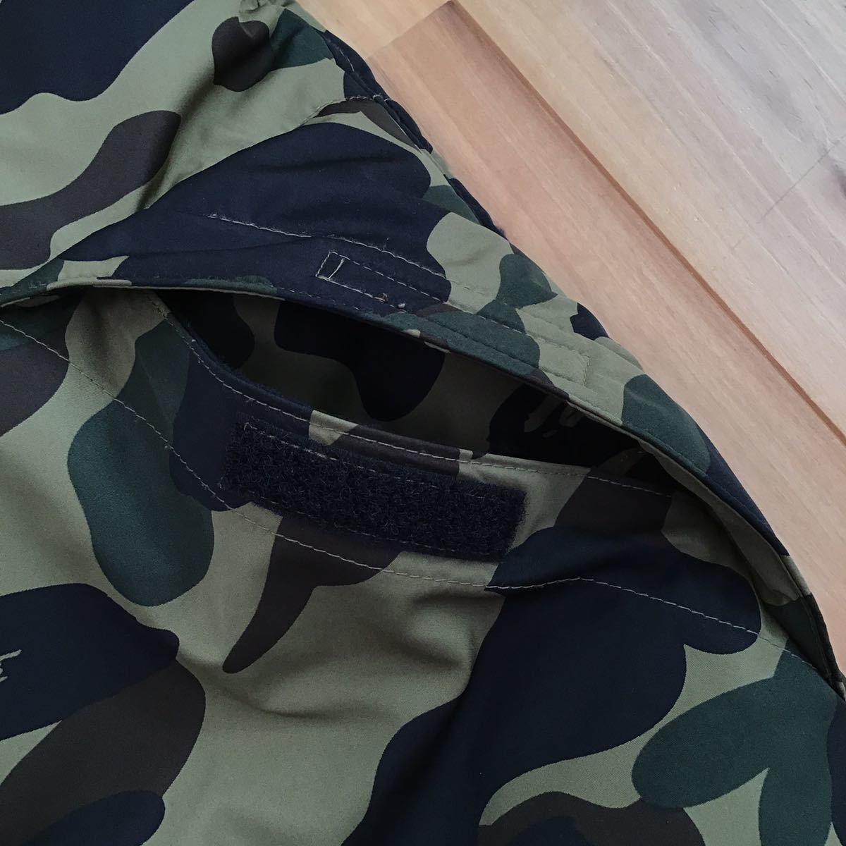 ダウンベスト 1st camo green Mサイズ a bathing ape BAPE エイプ ベイプ アベイシングエイプ down vest 迷彩 5251