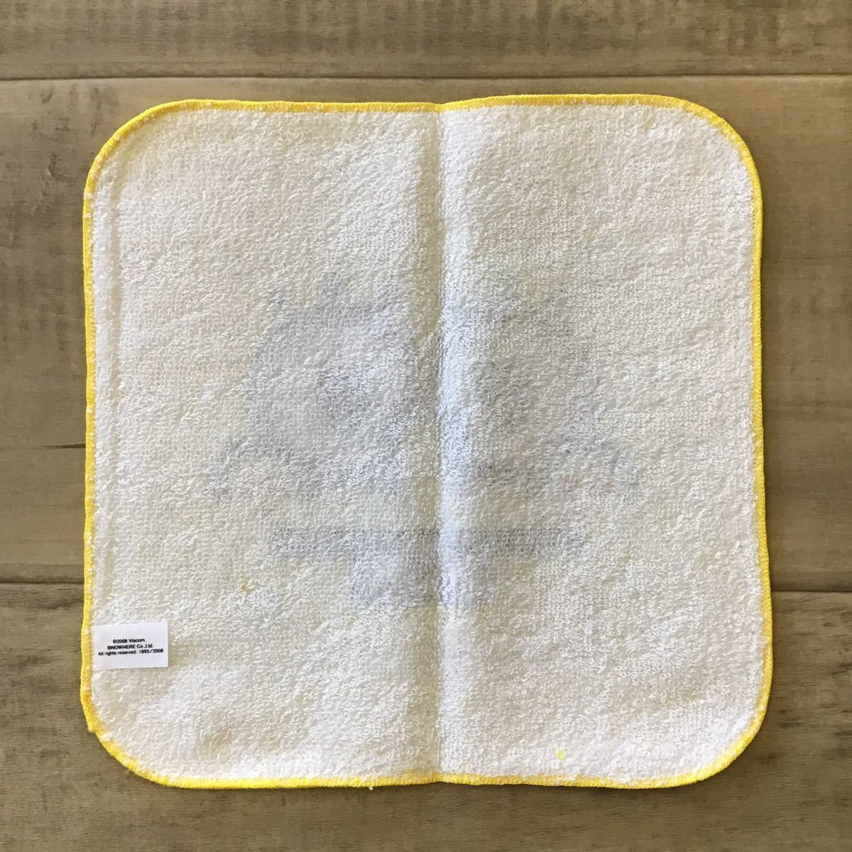 ★新品★ スポンジボブ × BAPE マイロ ハンド タオル a bathing ape baby milo sponge bob エイプ ベイプ アベイシングエイプ towel 685