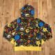 アニマル バナナ マイロ フルジップ パーカー Sサイズ a bathing ape BAPE sta full zip hoodie milo Safari animal banana エイプ ベイプ