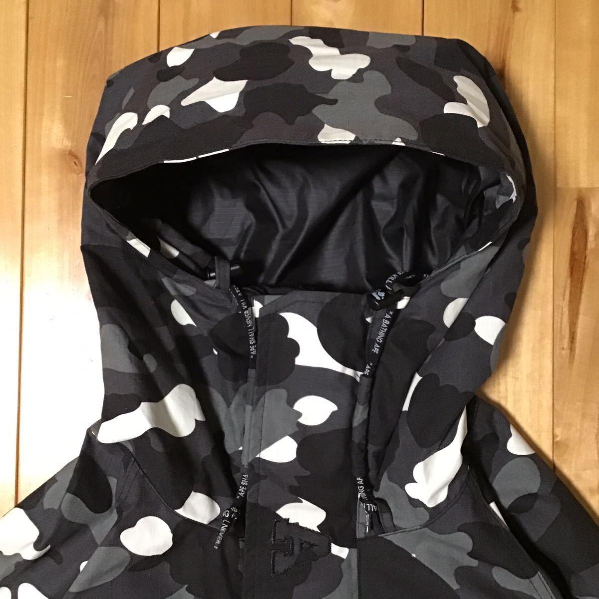 ★蓄光★ city camo スノボジャケット Lサイズ a bathing ape BAPE snow board jacket エイプ ベイプ アベイシングエイプ 迷彩 52tt