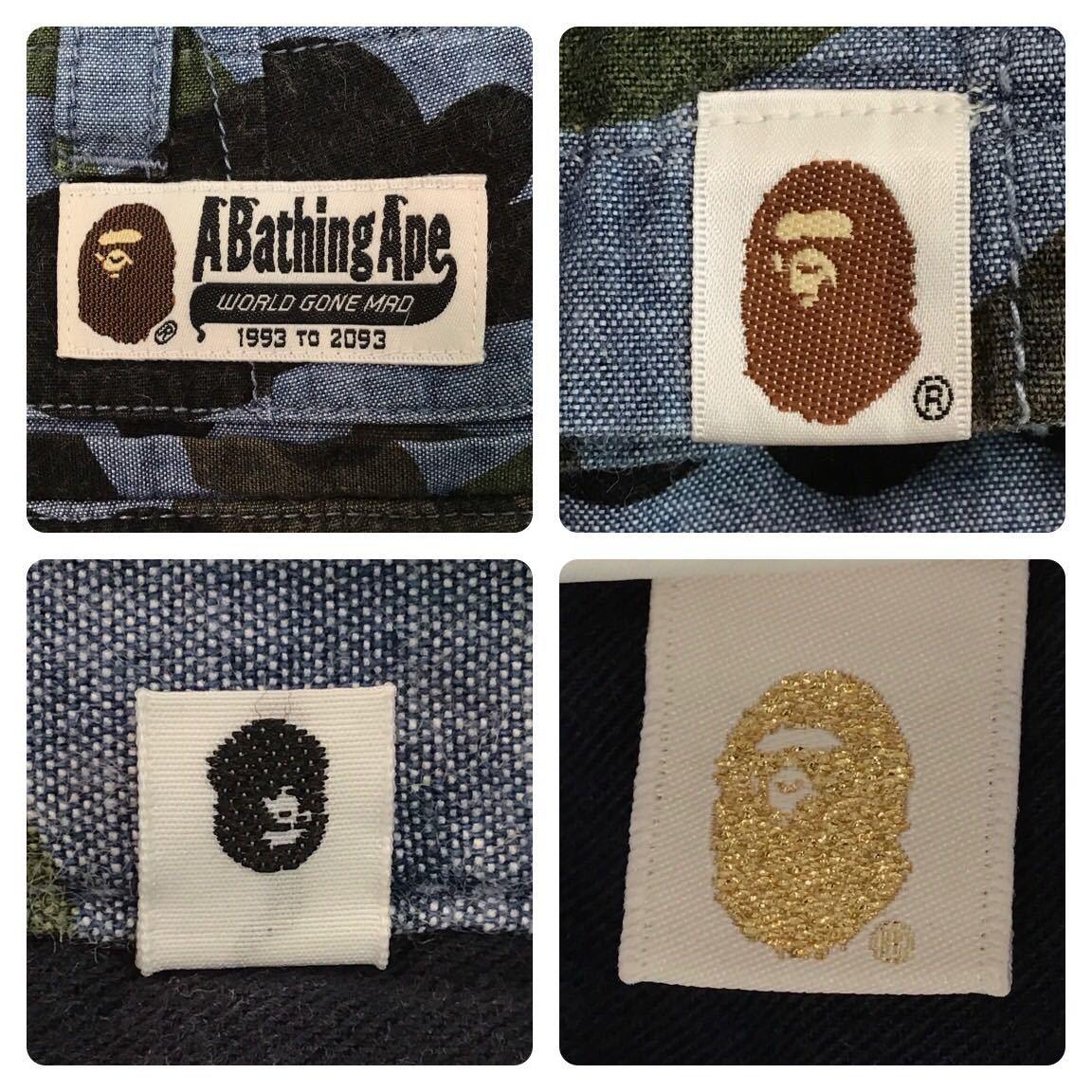Bape camo ハーフパンツ Lサイズ a bathing ape ショーツ エイプ ベイプ アベイシングエイプ 迷彩 f980