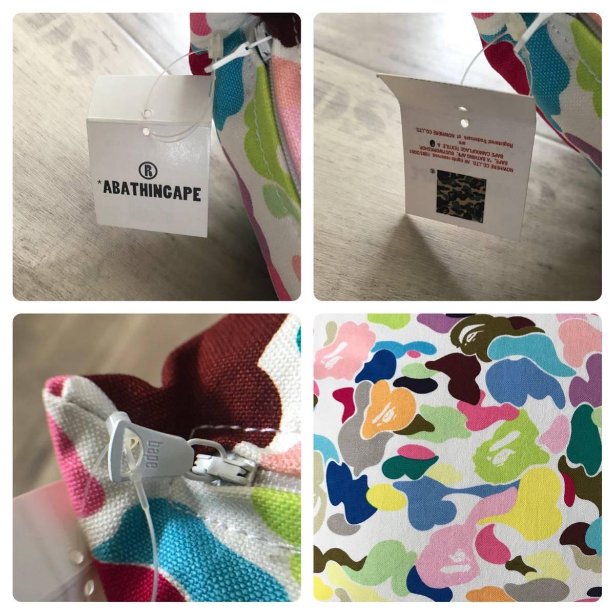 ★新品★ 初期 マルチカモ クッション a bathing ape BAPE multi camo cushion vintage candy エイプ ベイプ アベイシングエイプ nigo A