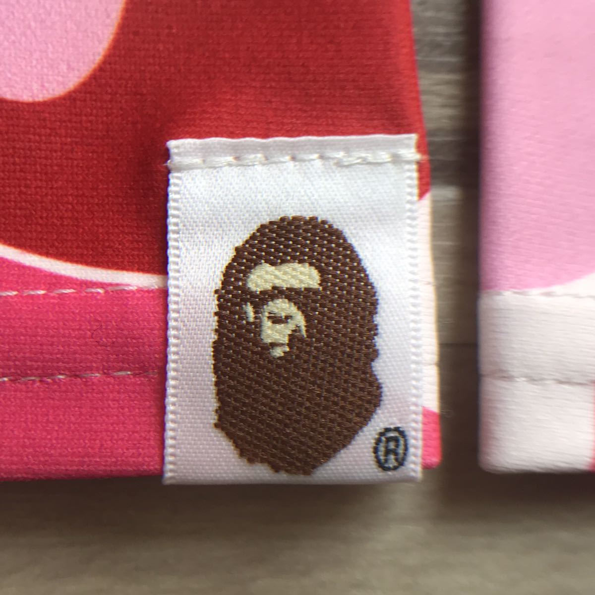 ★新品★ ABC camo pink sleeve アームカバー a bathing ape BAPE エイプ ベイプ アベイシングエイプ 迷彩 ABCカモ ピンク