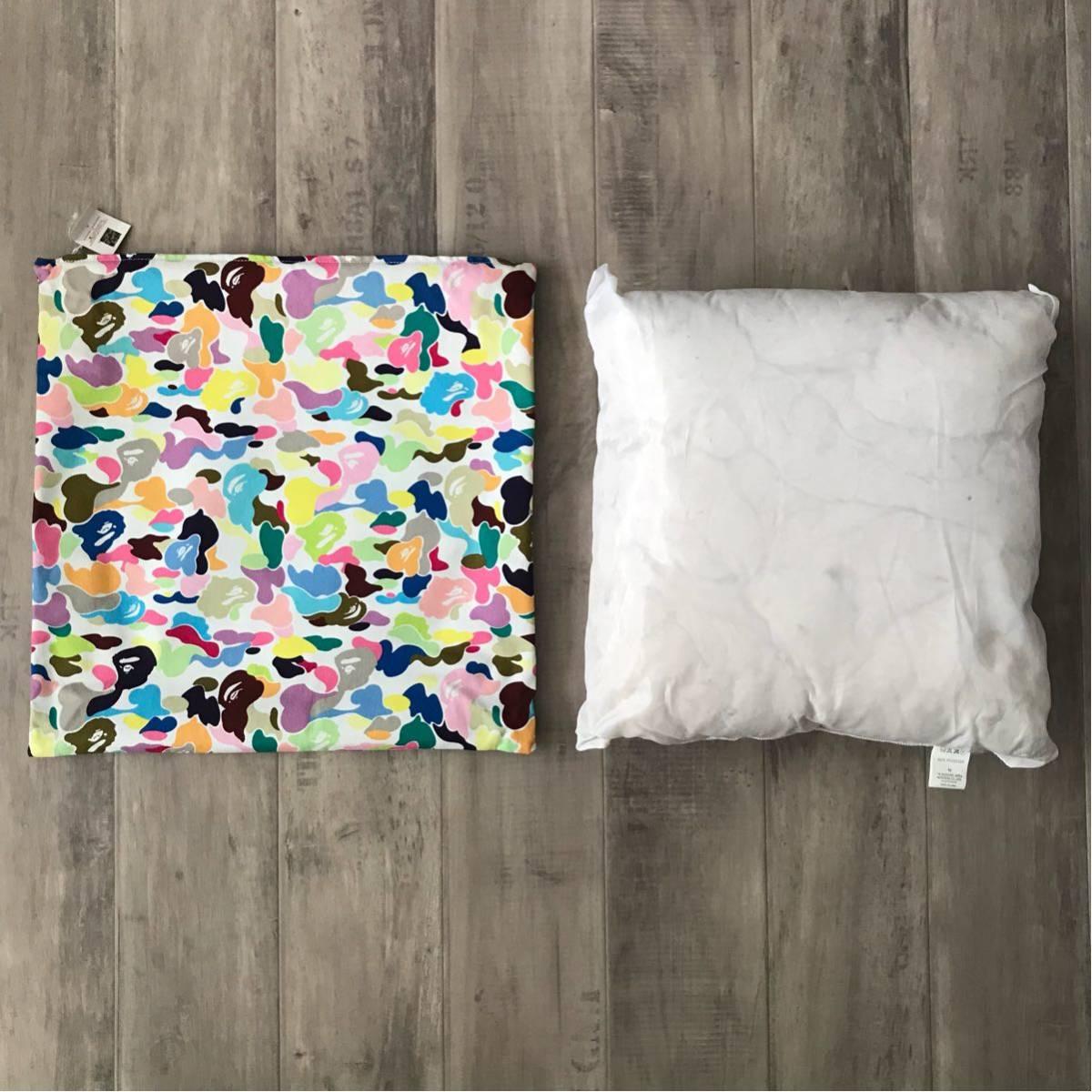 ★新品★ 初期 マルチカモ クッション a bathing ape BAPE multi camo cushion vintage candy エイプ ベイプ アベイシングエイプ nigo B