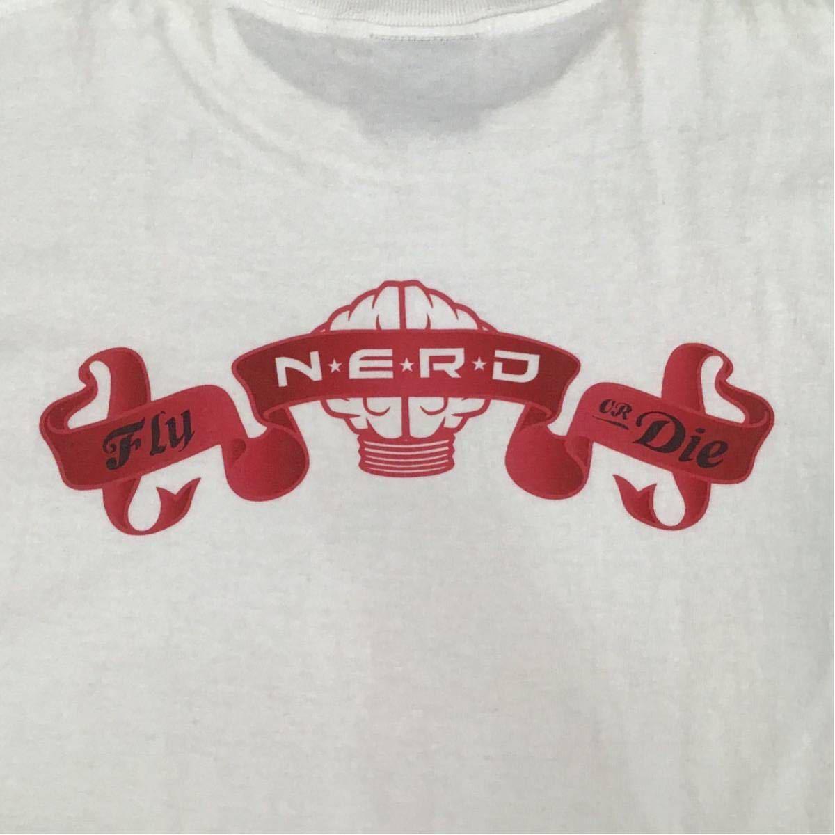 ★激レア★ N.E.R.D × BAPE Tシャツ Mサイズ a bathing ape NERD pharrell THE NEPTUNES star trak エイプ ベイプ アベイシングエイプ d61