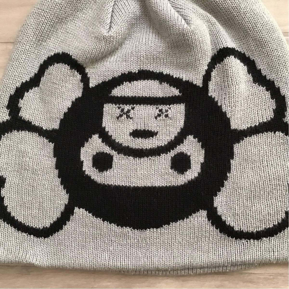 ★激レア★ KAWS × BAPE マイロ ニット帽 ビーニー a bathing ape Beanie カウズ エイプ ベイプ アベイシングエイプ milo nigo 帽子 m968