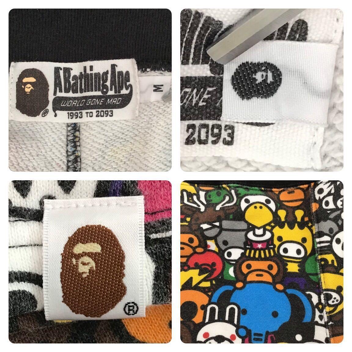 マイロ アニマル サファリ スウェット ハーフパンツ Mサイズ a bathing ape bape sweat shorts milo エイプ ベイプ ショーツ Safari 351