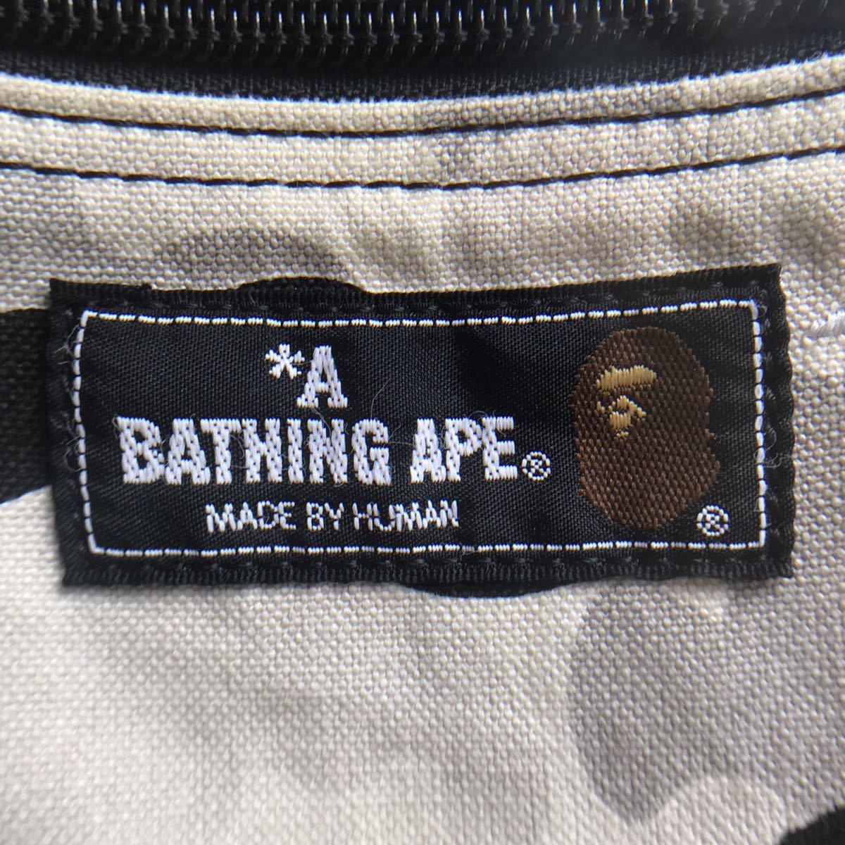 BAPE camo ポーチ a bathing ape BAPE sta マルチケース ベイプ エイプ アベイシングエイプ 迷彩 メイクポーチ BAPEsta スター star
