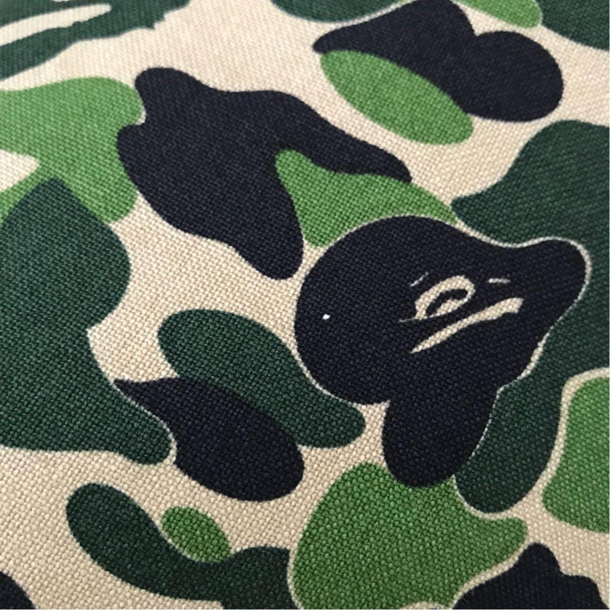 ★新品★ ABC camo green クッション a bathing ape BAPE ABCカモ cushion エイプ ベイプ アベイシングエイプ 迷彩 コレクション グッズ