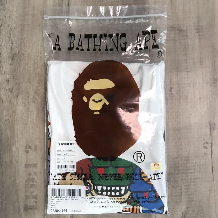 ★激レア★ ドラゴンボールZ × bape big head Tシャツ レディース Sサイズ a bathing ape dragonball エイプ ベイプ ドラゴンボール milo