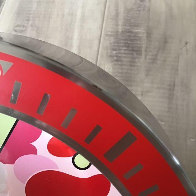 ★激レア★ BAPEX wall clock ABC camo pink ウォール クロック 掛け時計 a bathing ape BAPE エイプ ベイプ 時計 ABCカモ 迷彩 ピンク