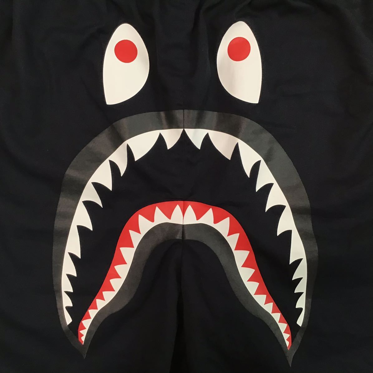 ★リバーシブル★ シャーク ハーフパンツ XLサイズ a bathing ape BAPE shark shorts ショーツ エイプ ベイプ 迷彩 navy × 1st camo 364a