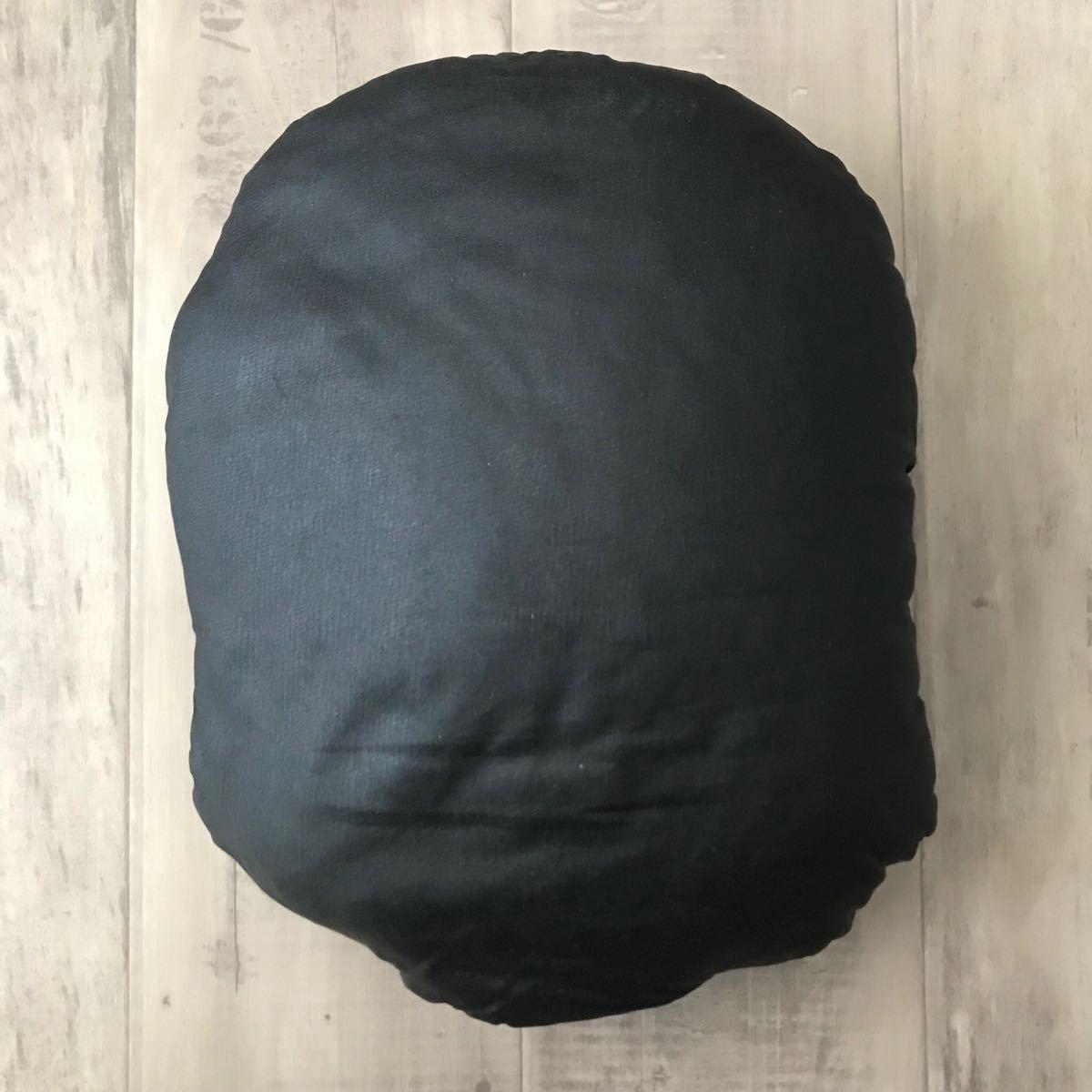 ★初期★ BAPE HEAD クッション black a bathing ape cushion エイプ ベイプ アベイシングエイプ vintage ビンテージ グッズ nigo