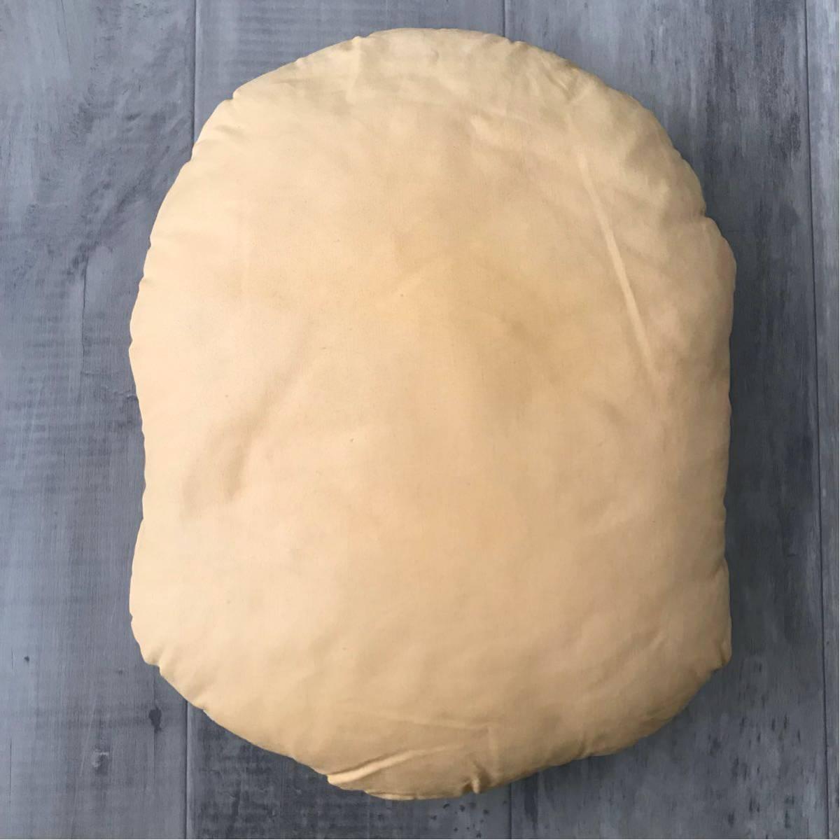 ★初期★ BAPE HEAD クッション beige a bathing ape cushion エイプ ベイプ アベイシングエイプ vintage ビンテージ グッズ nigo
