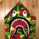 ★新品★ Psyche camo シャーク パーカー Sサイズ shark full zip hoodie a bathing ape bape エイプ ベイプ sta camo 迷彩 サイケ 70i