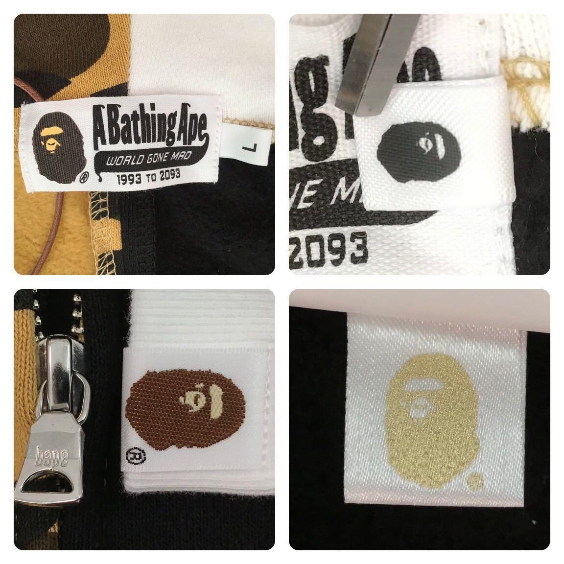 ★新品★ Ape head パンダ パーカー Lサイズ panda full zip hoodie a bathing ape bape エイプ ベイプ アベイシングエイプ 1st camo v87m