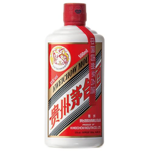 貴州 茅台酒(マオタイ酒 飛天牌):500ml☆ [75022]*(51-0)