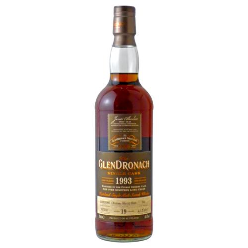 グレンドロナック 1993(19年) オロロソ シェリーバット:700ml [79635] 終売(98-0)