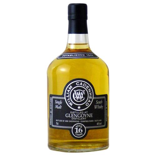 ウイリアムケイデンヘッド(WmC) グレンゴイン 16年 ブラックラベル:700ml [79898] 終売(98-0)