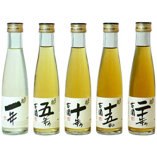 古酒 木戸泉酒造 古酒五曲:180ml 5本セット [ZZ015] 終売(98-0)