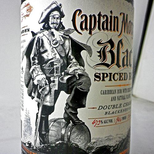 キャプテンモルガン ブラック スパイスト ラム:700ml [73732]* 品切(89-0)